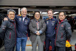 F1 | F1第3戦中国GP、レッドブルとホンダ首脳陣