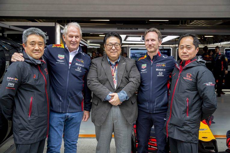 F1 | ホンダF1山本MD 中国GPインタビュー:「的確な判断を下すレッドブルは、とにかくレースに対する引き出しが多い」