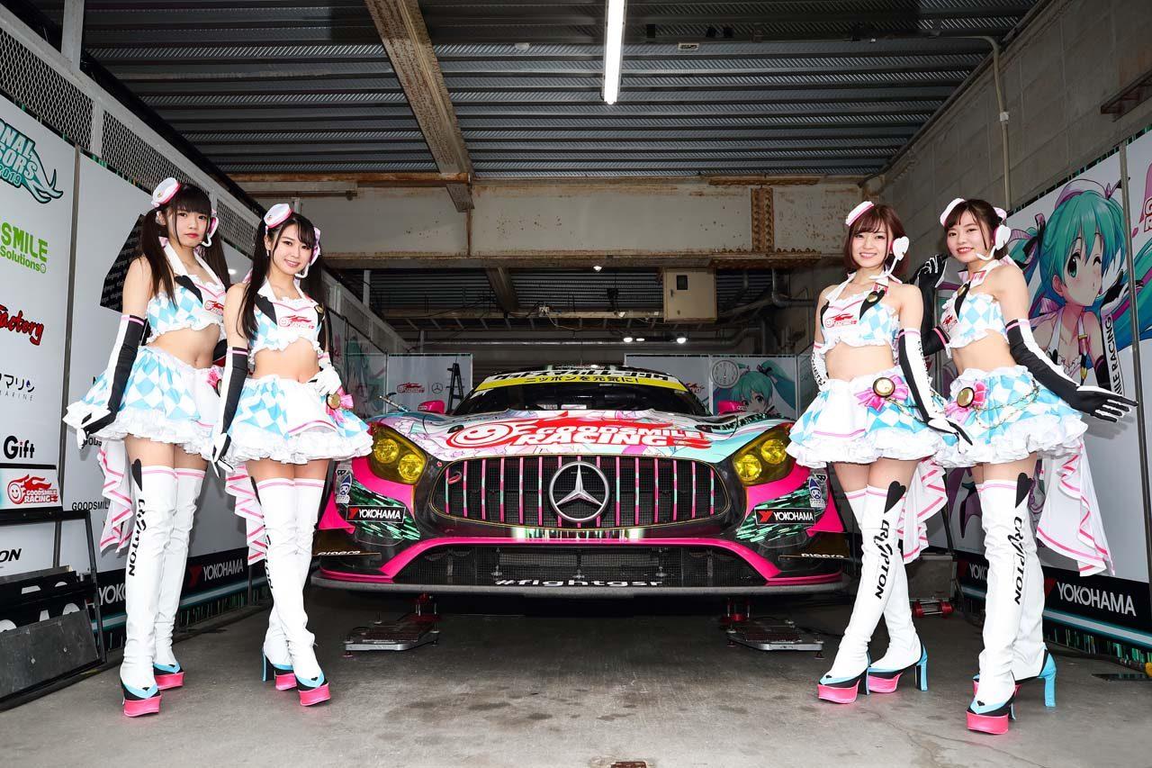 GOODSMILE RACING & TeamUKYO 2019スーパーGT第1戦岡山 レースレポート
