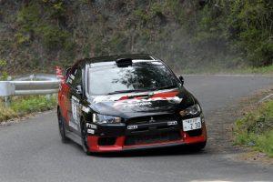 ラリー/WRC | 2019年の全日本ラリー第3戦を制した奴田原文雄/佐藤忠宜(ミツビシ・ランサーエボリューションX)