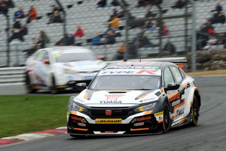 海外レース他 | イギリス・ツーリングカー:インシーズンテストで新旧ホンダ・シビックがトップ3占拠