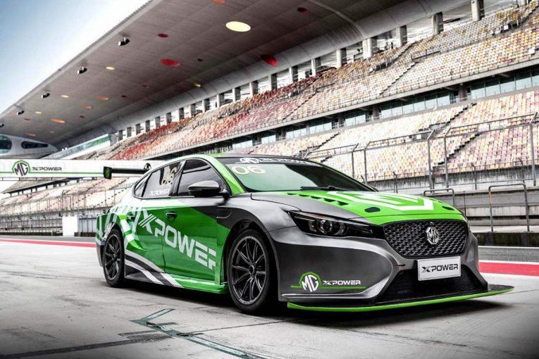海外レース他 | 中国資本のMG、上海オートショーで新型『MG6 XPower TCR』をアンベイル