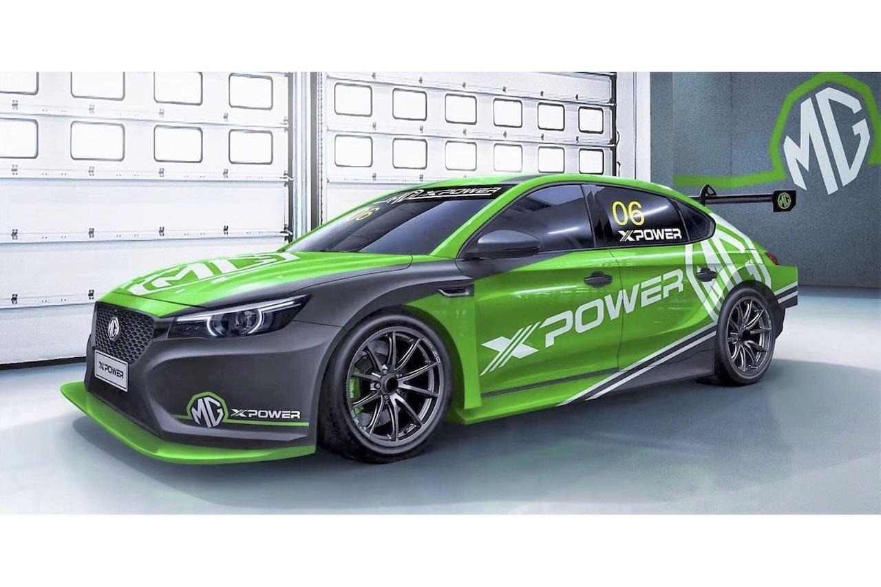 中国資本のMG、上海オートショーで新型『MG6 XPower TCR』をアンベイル