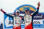 ラリー/WRC | 2018年のラリー・アルゼンティーナで優勝したオット・タナク(右)