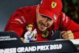 F1 | ベッテル、2019年末でF1引退報道を一蹴。「いまの自分は絶頂期だと感じているよ」
