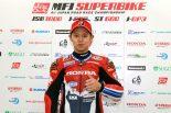 第2戦の予選で鈴鹿のコースレコードを1秒以上上回るタイムでダブルポールを獲得した高橋巧(Team HRC)