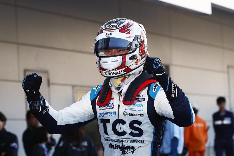 スーパーフォーミュラ | 牧野任祐が衝撃のデビュー戦ポール。ナカジマレーシングが9年ぶりの最上位グリッド獲得【スーパーフォーミュラ第1戦鈴鹿予選】