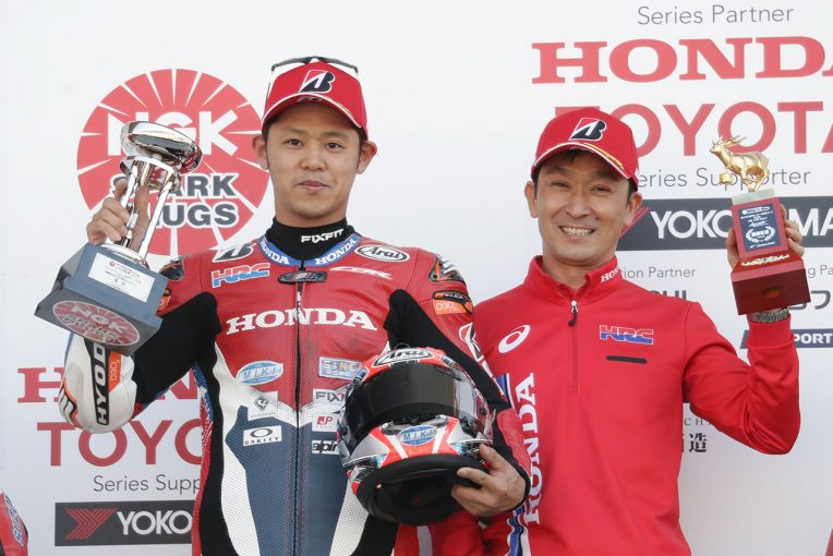 MotoGP | 高橋巧、中須賀の転倒に気づかず「がむしゃらだった」/全日本ロード第2戦鈴鹿レース1会見