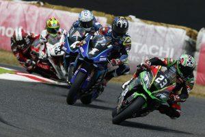 MotoGP | 2番手争いを繰り広げる5台の並び