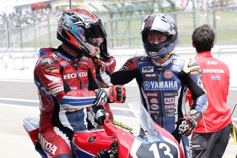 MotoGP | 高橋巧、鈴鹿でダブルウインも「天狗にならず、良い流れを持続させたい」/全日本ロード第2戦レース2会見コメント