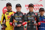 全日本F3選手権第2戦鈴鹿の表彰台