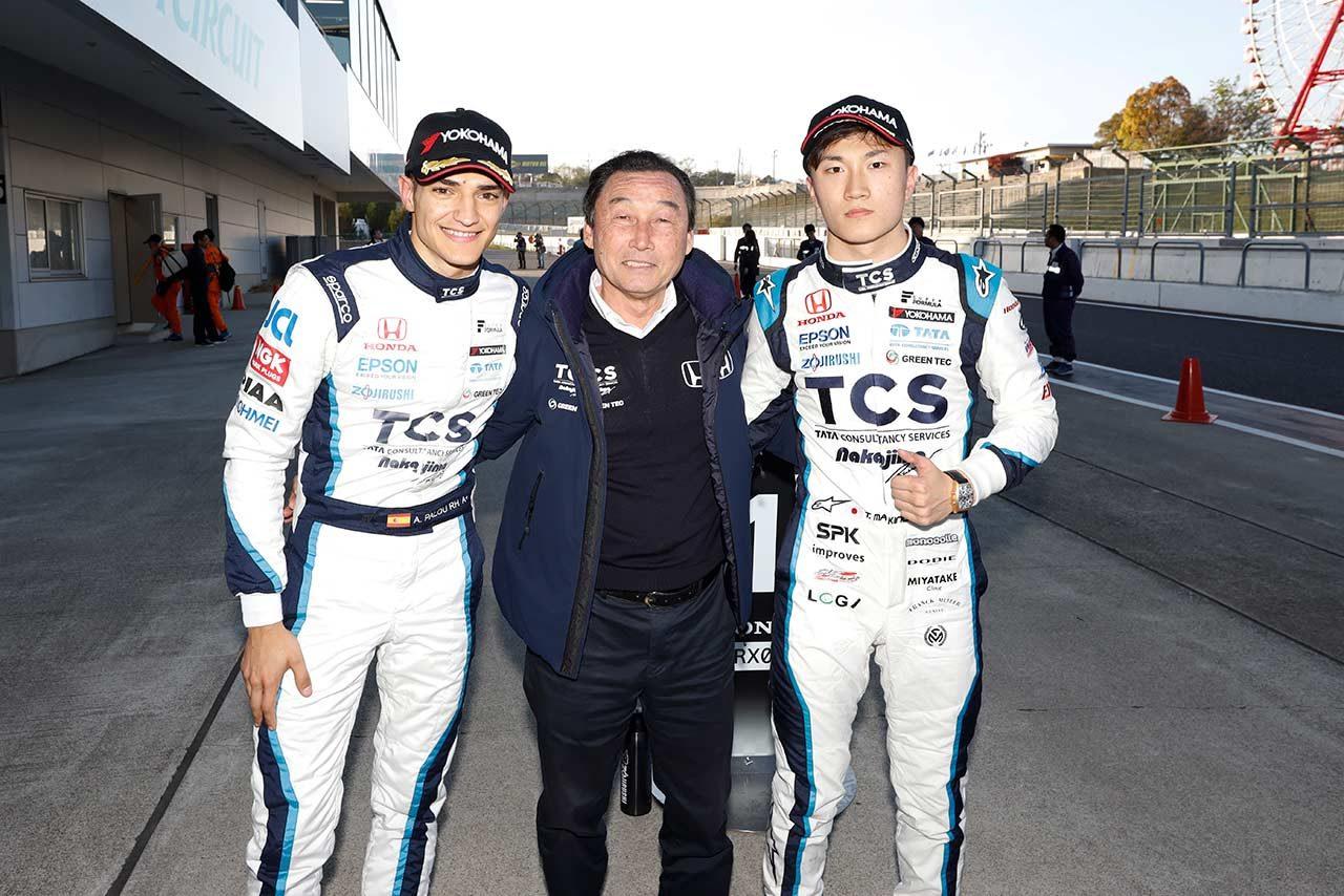 2019年のスーパーフォーミュラ第1戦鈴鹿で予選フロントロウを独占したNakajima Racing