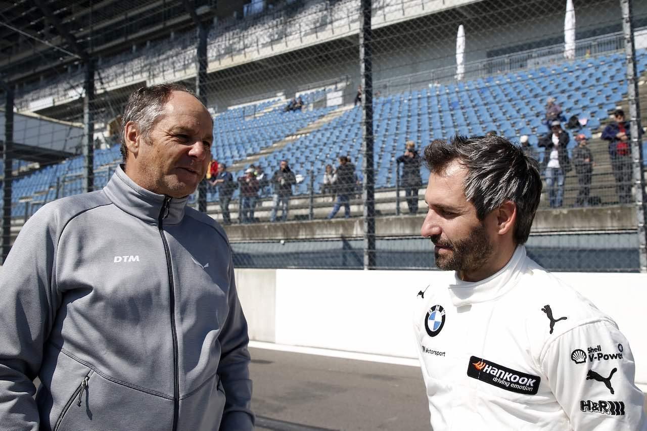 DTM:公式テストを終えたゲルハルト・ベルガー代表「何が起こるかわからない」