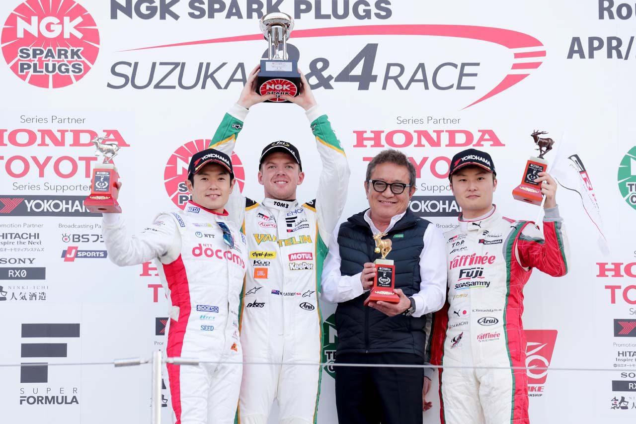 トヨタ 2019スーパーフォーミュラ第1戦鈴鹿 レースレポート