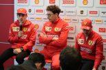 F1中国GPレース後、フェラーリ会見