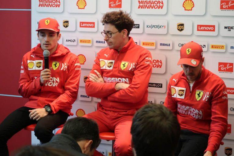 F1 | 矢継ぎ早に飛ぶ厳しい質問に、「正しい決断だった」と主張を曲げないフェラーリ代表/F1第3戦中国GPレース後会見