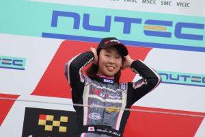 国内レース他 | スーパーFJ富士シリーズ第1戦で優勝した村松日向子