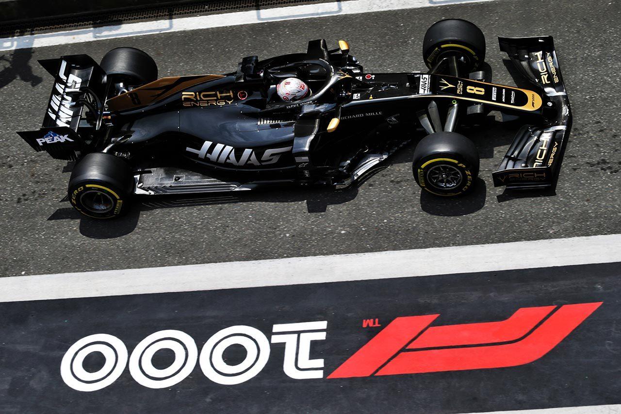 2019年F1第3戦 ロマン・グロージャン(ハース)