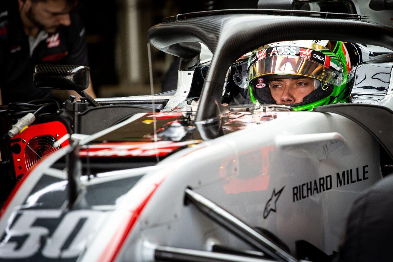 2018年F1アブダビテストでのデレトラズ