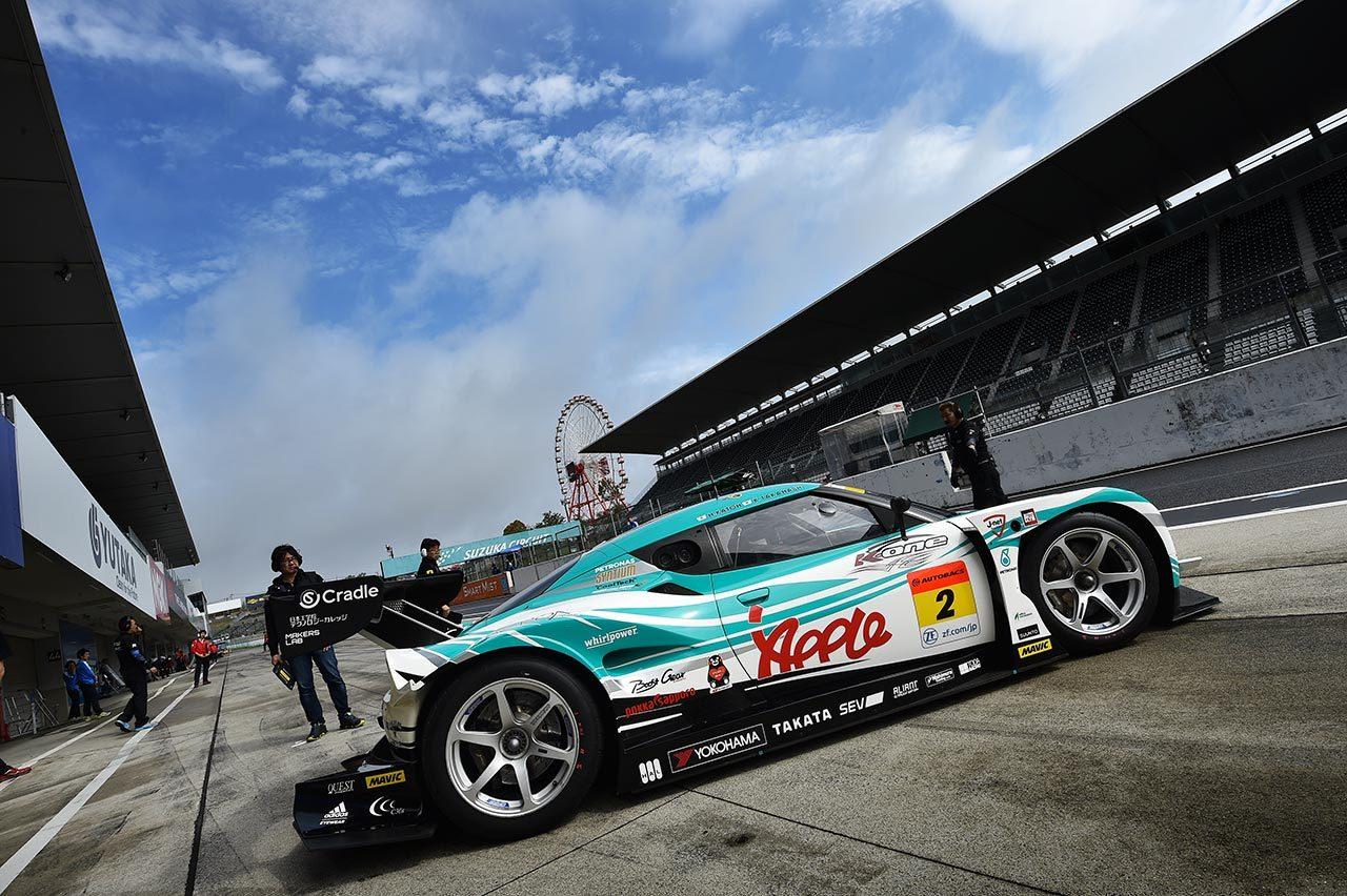 スーパーGT:鈴鹿タイヤメーカーテストの2日目はドライに転じる。WedsSport ADVAN LC500が最速