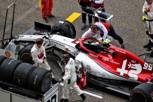 F1 | アルファロメオのジョビナッツィ、パワーユニット交換で10グリッド降格へ