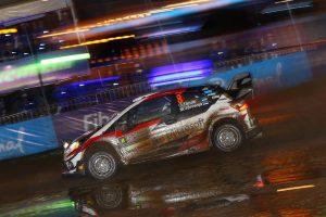 ラリー/WRC | ラリー・アルゼンティーナのSS1でトップにつけたオット・タナク(トヨタ・ヤリスWRC)