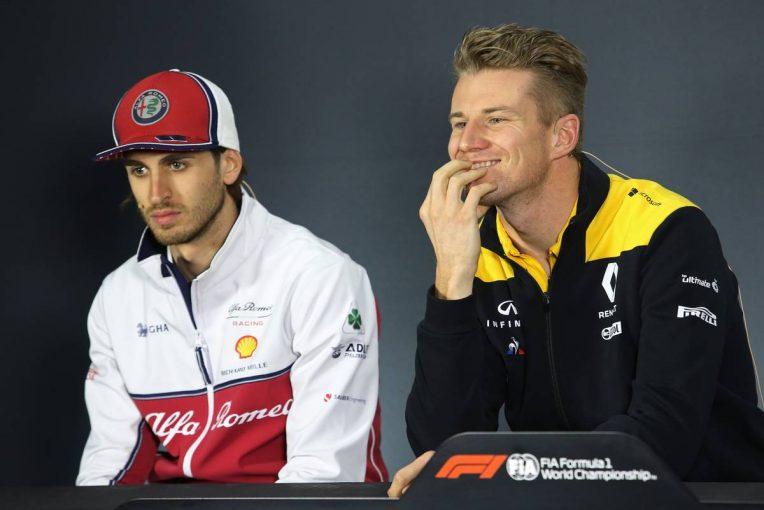 F1   F1アゼルバイジャンGP 木曜会見:子犬の話題に笑みがこぼれるヒュルケンベルグ「まだ飼っているわけじゃないよ」