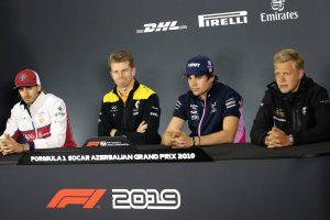 F1 | F1第4戦アゼルバイジャンGP 木曜会見