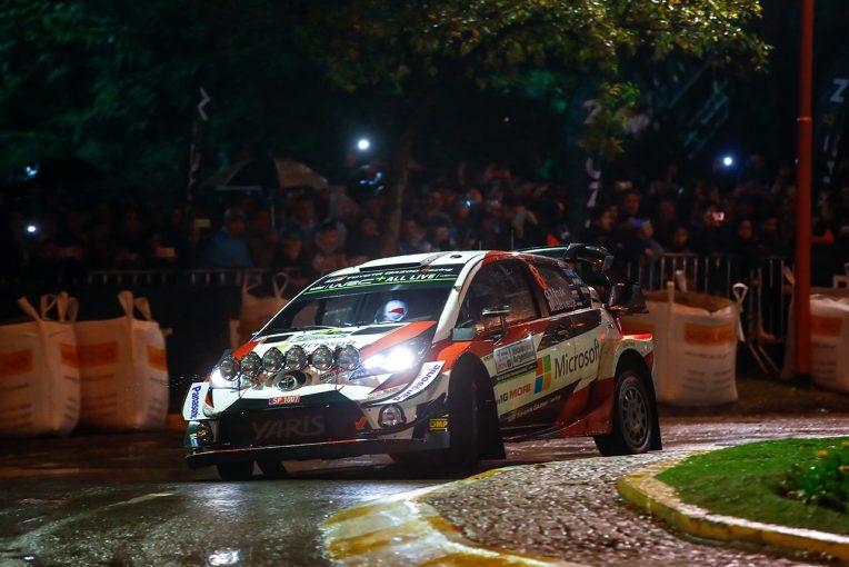 ラリー/WRC   【順位結果】2019WRC第5戦アルゼンチン SS1後