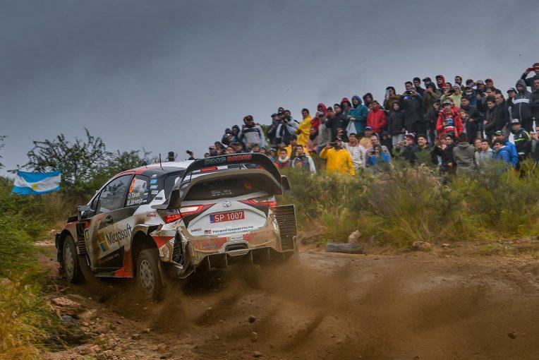 ラリー/WRC   WRC:トヨタ、アルゼンチン連覇へ好発進も、「きっと過去にないくらい荒れたアルゼンチン戦になる」