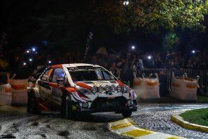 ラリー/WRC | SS1を走るヤリ-マティ・ラトバラのトヨタ・ヤリスWRC