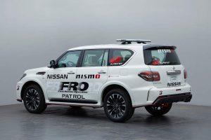 スーパーGT | スーパーGTにFRO車両として提供されるニッサン・パトロールNISMO