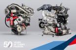 海外レース他 | DTM:BMW、クラス1準拠の新型4気筒ターボエンジン『P48』公開。1969年の4気筒ターボと比較