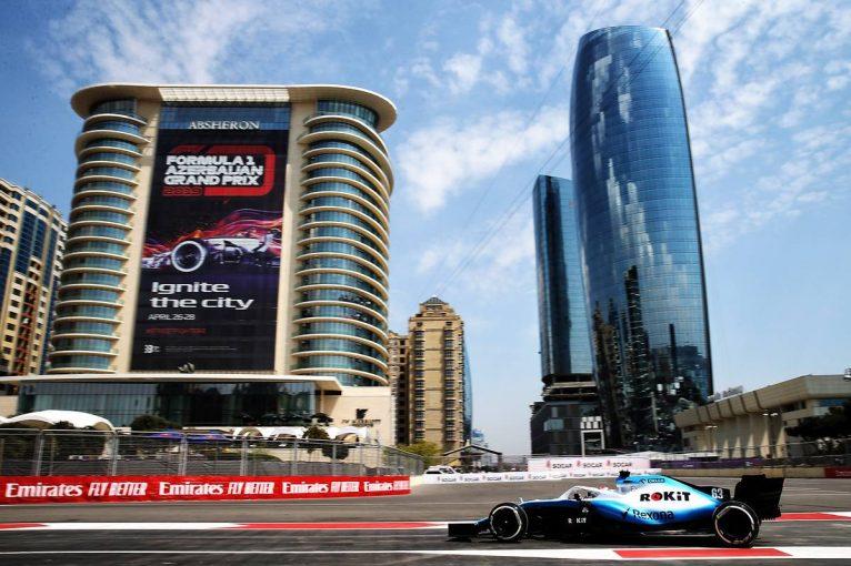 F1   赤旗中断でセッション終了【タイム結果】F1第4戦アゼルバイジャンGP フリー走行1回目