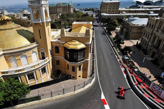 2019年F1アゼルバイジャンGP セバスチャン・ベッテル(フェラーリ)