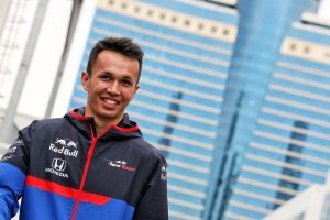 F1 | アルボン「走り始めからマシンの速さを感じた。今のところすべて好調」:トロロッソ・ホンダ F1アゼルバイジャンGP金曜