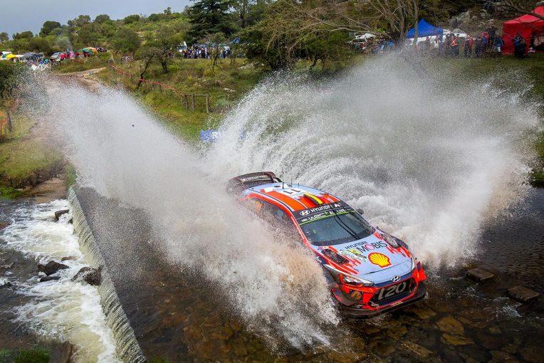 ラリー/WRC   【順位結果】2019WRC第5戦アルゼンチン SS8後