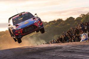 ラリー/WRC | WRCアルゼンチン:トヨタが一時トップ3独占も悪路に苦戦。ヒュンダイのヌービルが総合首位