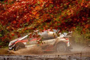 ラリー/WRC | WRCアルゼンチン:トヨタ、トラブルで首位後退。「今日はクルマにとって過酷」とマキネン
