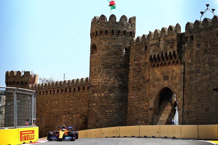 F1 | マクラーレンF1、アゼルバイジャンGP初日は2台がトップ10入りするも楽観視はせず