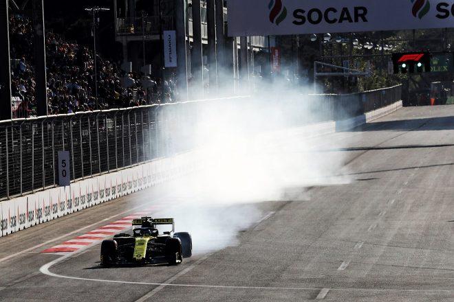 2019年F1第4戦アゼルバイジャンGP ダニエル・リカルド(ルノー)