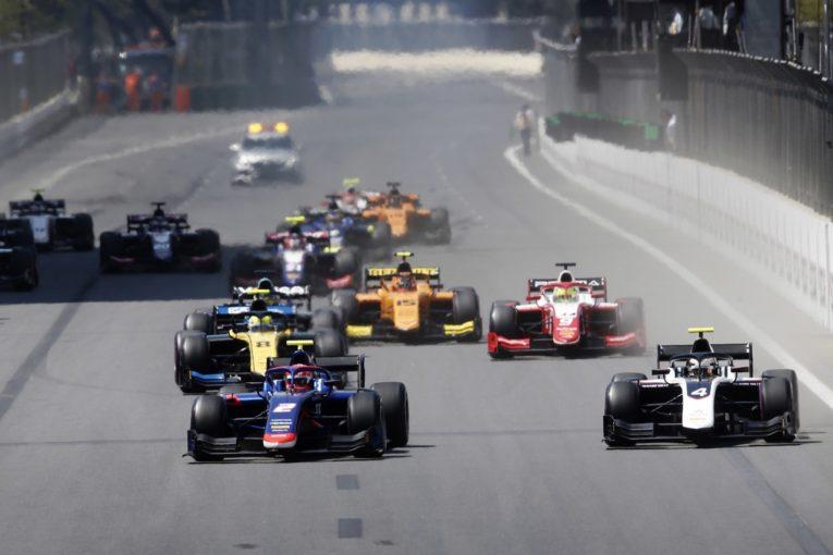 海外レース他 | FIA-F2第2戦アゼルバイジャン レース1:荒れたレースをエイトケンが制す。ポールの松下は不運に泣く