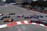 海外レース他   FIA-F2第2戦アゼルバイジャン レース1:荒れたレースをエイトケンが制す。ポールの松下は不運に泣く