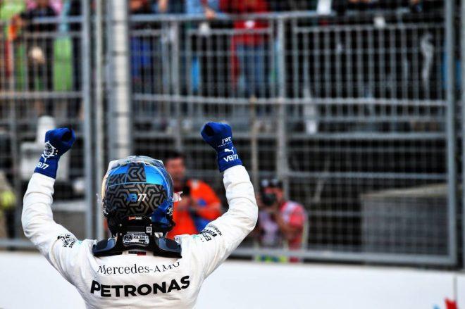 2019年F1第4戦アゼルバイジャンGP予選 バルテリ・ボッタス(メルセデス)がポールポジション