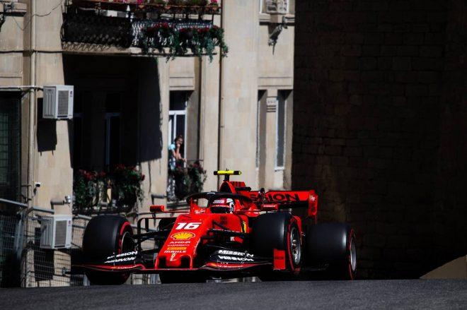 2019年F1第4戦アゼルバイジャンGP シャルル・ルクレール(フェラーリ)