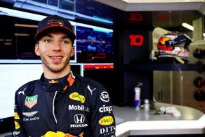 F1   レッドブル・ホンダのガスリー「全チームがアップグレードを導入するグランプリで、いい戦いをしたい」:スペインGPプレビュー