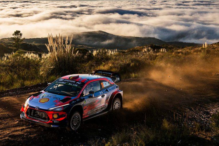 ラリー/WRC   【順位結果】2019WRC第5戦アルゼンチン SS15後