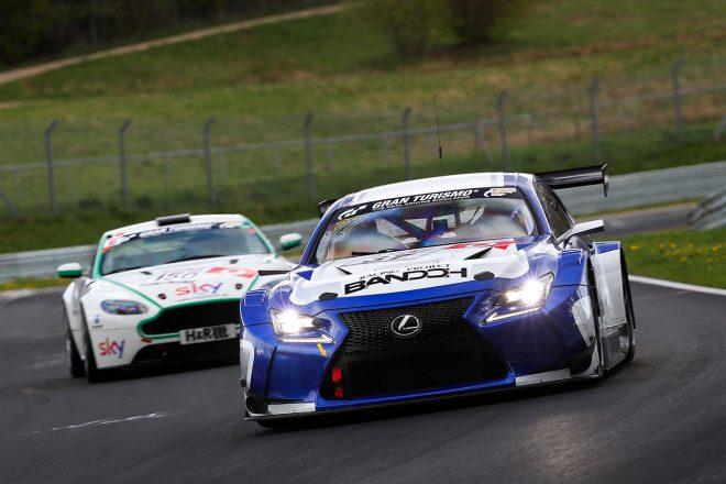 バンドウレーシング・ウィズ・ノーベルレーシングのレクサスRC F GT3