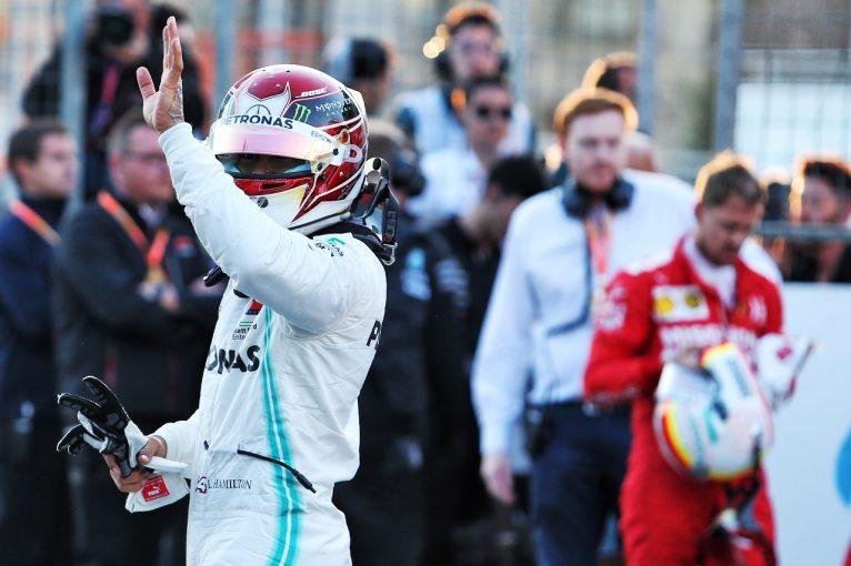F1 | セッション延長がメルセデスに有利に。「まさかフェラーリに勝てるとは」とハミルトン:F1アゼルバイジャンGP土曜