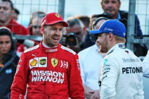F1 | ベッテル予選3番手「マシンバランスが変化し、トウも得られなかった。でも結局はメルセデスの方が速かったということ」:フェラーリ F1アゼルバイジャンGP土曜